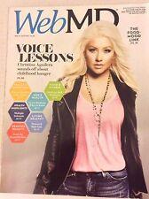 Web Md Magazine Christina Aguilera March/April 2016 042917nonrh2