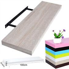 Wandregal Wandboard MDF Hängeregal Bücherregal Regal 100cm Sonoma Eiche RG9234ei
