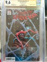Symbiote Spiderman 1 CGC 9.6 Signed By Peter David