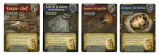 FR Mice and Mystics ALL 4 PROMO CARDS FRENCH : carapace de tortue, coupe-chef...