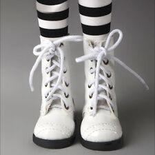 Dollmore Clothes MSD - Nex Boots (Enamel White)