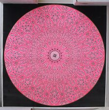 1967 Psychedelic Poster: Mandala of the Magnificent. Black Light.