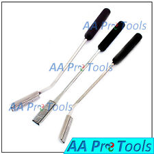 Equine Dental Float Round Shaft Set Of 3 Floats With Rasp Blade Equine Vet Tools