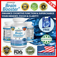 ADVANCED Brain Booster Supplement Memory Focus Mind & Clarity Enhancer Nootropic