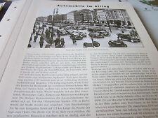 Deutsches Automobil Archiv Alltag 5145 Berlin unter den Linden 1936