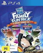 Hasbro Family Fun Pack PS4 Playstation 4 Brand New Sealed