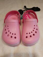 Primark Girl's Pink Slip On Sandals Size 8