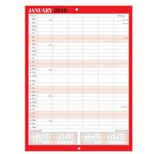 2018 LARGE MONTH TO VIEW PLANNER QUALITY CALENDER WALL HANGING PLANNER -ST-9306