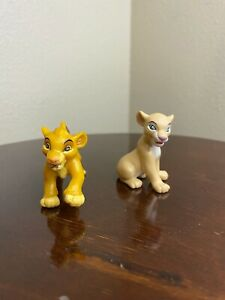 Disney PVC Lion King Cake Topper Figure - Young Simba and Nala