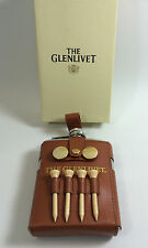 The Glenlivet Scotch Flask With Built on Golf Caddy