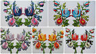 Iron On Patch Embroidered Trims Flower Sewing Fabric Crafts Roses DIY Applique