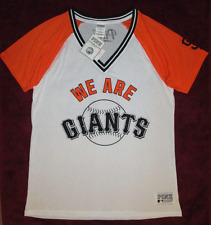 """Victorias Secret PINK San Francisco Giants Bling Jersey """"We Are Giants"""" L NWT"""