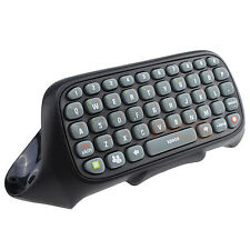 New Black Wireless Controller Messenger Game Keyboard Keypad ChatPad For XBOX360