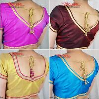 Saree Blouse New Designer Readymade Choli Sari Indian Party Wear Bollywood Dress