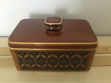 Vintage Hornsea Heirloom - Butter dish and lid - John Clappison Design