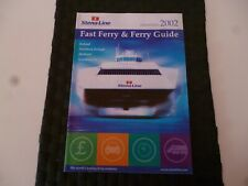 STENA LINE FAST FERRY & GUIDE TRAVEL 2002 IRELAND HOLLAND BROCHURE *AS PICTURES*