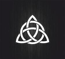 Sticker adesiva adesivi tuning auto moto celtico trinity triquetra croce knot r1