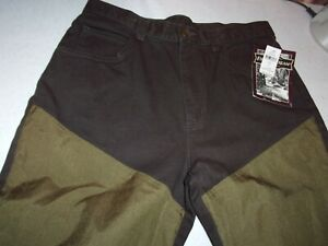 FIELD & STREAM SZ 34 MEN'S FIELD HUNTING PANTS BROWN STYLE HFS8140 NWT