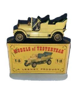 Vintage Matchbox models or yesteryear 1904 Spyker in box Y-16