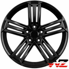 "18"" WHEELS RIMS FOR VW GOLF CC JETTA PASSAT GTI 18x8.0 +45 5X112 Black Rims Set"