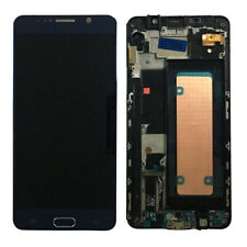 For Samsung Galaxy Note 5 N920F + Frame LCD Touch Screen Display Digitizer Blue