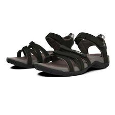 Teva Womens Tirra Leather Walking Shoes Sandals - Black Sports Outdoors