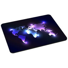 Mauspad Gaming Mousepad rutschfest Maus Pad mit Design, Dark World Weltkarte