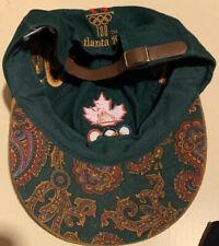 VTG Atlanta Summer Olympic Games 1996 Olympics Strapback Hat One Size Fits All