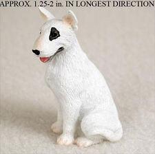 Bull Terrier Mini Resin Dog Figurine