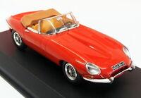 Norev 1/43 Scale Model Car 270062 - 1961 Jaguar E-Type - Carmin Red