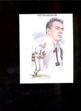 1989 TV-4 OTTO GRAHAM Cleveland Browns Rare Card