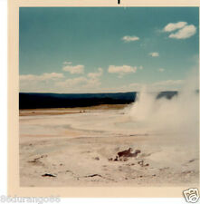 VINTAGE PHOTOGRAPH 1968 YELLOWSTONE GEISERS