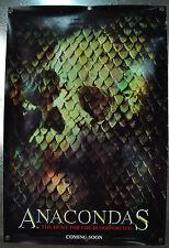 Anacondas Hunt ForThe Blood Orchid Original 1SH Movie Poster 2004 27 x 40 Holo