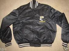 Purdue Boilermakers Baseball Team Vintage Black Jacket LG mens