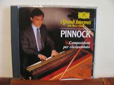 PINNOCK composizioni per clavicembalo-CD-DEUTSCHE-Grandi interpreti-DeAgo