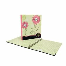 Wilson Jones Recycled Bliss 3-Ring Binder, 1 Capacity, Letter Size, Floral