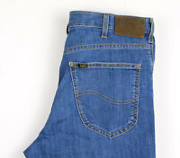 Lee Hommes Brooklyn Straight Jambe Jeans Extensible Taille W38 L26 APZ802