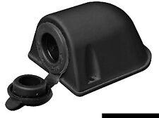 Waterproof 12 Volt Power Socket Black Cigarette Lighter Plug Boat  12VBK