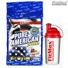 Pure American Protein 750g + Free Shaker Bodybuilding Whey BCAA Anabolic Powder