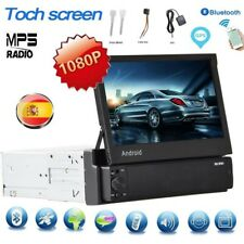 "1Din Android 8.1 Autoradio 7"" Pantalla táctil GPS Navi Wifi MP5 Bluetooth FM USB"