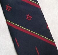 Vintage REGIMENTAL Tie Mens Necktie Club Association