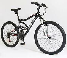 """26"""" Chaos Mens KIDS BIKE - Adult MFX Bicycle in BLACK and RED (Dual Sus)"""