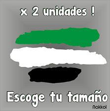 Sticker - BANDERA DE EXTREMADURA - Vinyl - Car Tunnig - Pegatina - Coche - Moto
