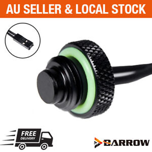 Barrow Water Cooling G1/4 10K Temperature Sensor Stop Plug Fitting 2 Pin plug
