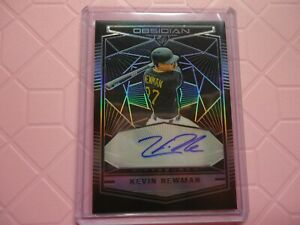 2019 OBSIDIAN AUTO KEVIN NEWMAN PITTSBURGH OA-KN PRIZM