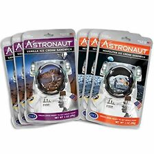 Astronaut Space Food 6x Freeze-Dried Ice Cream Variety Pack Vanilla Neapolitan