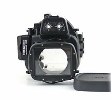 UK 40 M Caja Submarina Buceo CARCASA de la Cámara para Canon EOS M2 18-55 Mm Lente