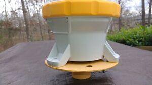 Carmanah M650 Solar LED Marine Navigational Light Base Platform Buoy Solar Light