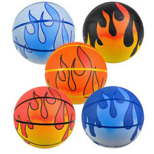 """9.5"""" Assorted Flame Basketball Toys Balls Sports Collectibles Gifts Prizes"""