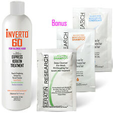 Inverto 60 BLONDE Keratin Treatment Advanced Gel Formula 4oz Formaldehyde Free
